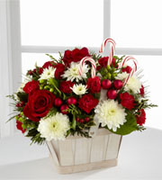 Rennings Candy Cane Lane Bouquet