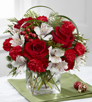 The FTD® Holiday Hopes™ Bouquet by Better Homes and Gardens®