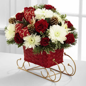The FTD® Season\'s Sleigh Ride™ Bouquet