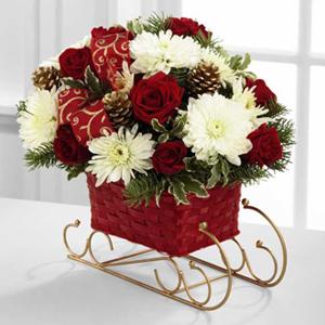 The FTD® Season\'s Sleigh Ride™ Bouquet