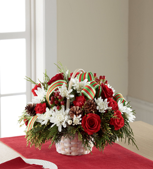 Out Of The Woods Florist The Ftd 174 Goodwill Amp Cheer Basket