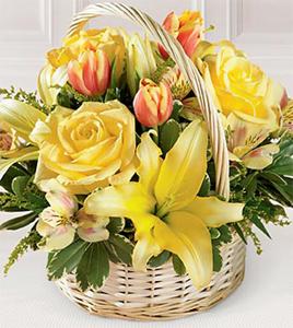 The FTD® Garden Spring™ Basket