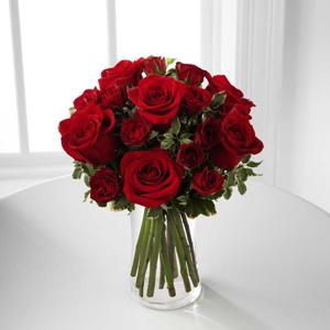 Bluebonnet Florist The FTD Red Romance Rose Bouquet