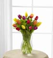 The FTD® Bright Tulips Bouquet