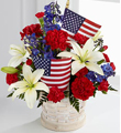 American Glory - local flower delivery Winston Salem, NC - Bo-Ty Florist