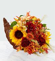 The FTD® Fall Harvest™ Cornucopia