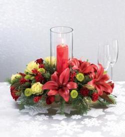 The FTD® Light of Christmas™ Centerpiece