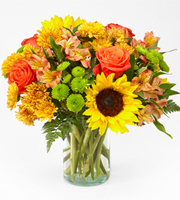 The FTD® Golden Hour™ Bouquet
