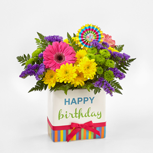 The FTD® Birthday Brights™ Bouquet