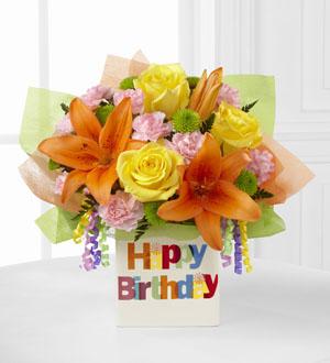 The FTDR Birthday CelebrationTM Bouquet