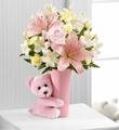 The FTD® Baby Girl Big Hug™ Bouquet