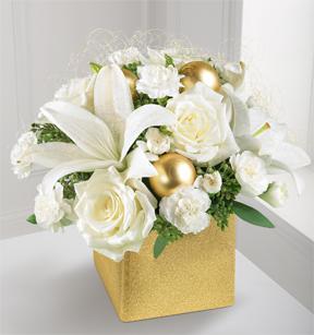 The FTD® Golden Bliss™ Bouquet