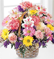 Basket of Cheer - local flower delivery Winston Salem, NC - Bo-Ty Florist