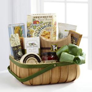 The FTD® Heartfelt Sympathies™ Gourmet Basket