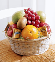 The FTD® Fruit and Chocolate Basket