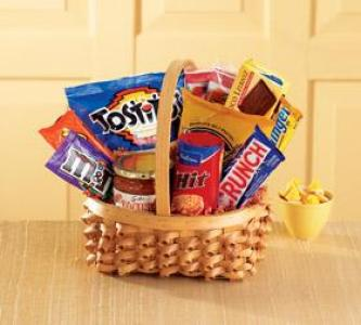The FTD® Big Munch™ Basket