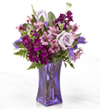 The FTD® Purple Presence™ Bouquet- VASE INCLUDED