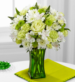 The FTD® Lime-Licious™ Bouquet