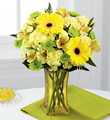 The FTD® Lemon Groove™ Bouquet