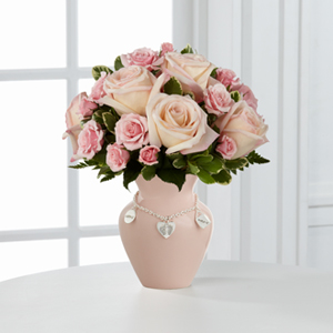 The FTD® Mother\'s Charm™ Rose Bouquet - Girl
