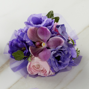 The FTD® Purple Dusk™ Corsage
