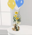The FTD® Welcome™ Bear Bouquet