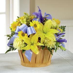 Le bouquet Bleu garçonMC de FTD®