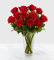 Long Stem Red Rose Bouquet by FTD®