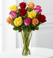 The FTD� Bright Spark� Rose Bouquet