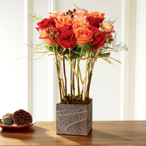 Le bouquet de roses ContemporainMC de FTD®