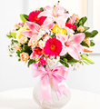 Surprise Bouquet in Pink Colors