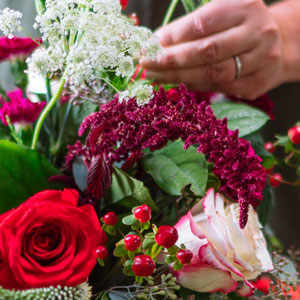 The FTD® Holiday Florist Designed Bouquet - Large Georgia's Florist Port Charlotte Florida  33952