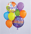 Congratulations Balloon Bouquet Georgia's Florist Port Charlotte Florida  33952