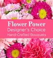 Pink Colors Florist Designed Bouquet