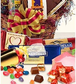FTD Florist Designed Chocolate & Candy Gift Basket Premium