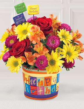 The FTD ® Happy Birthday Bouquet