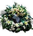 Wreath in Pastel Colors (with ribbon)`