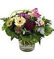 Bouquet de fleurs coupées mélangées sans vase