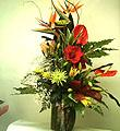 Arrangement de fleurs coupées mélangées