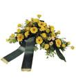 Funeral Arrangement with Ribbon