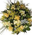 Seasonal Bouquet in Yellow Shades