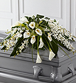 The FTD� Angel Wings� Casket Spray