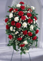 The FTD® Crimson & White™ Standing Spray
