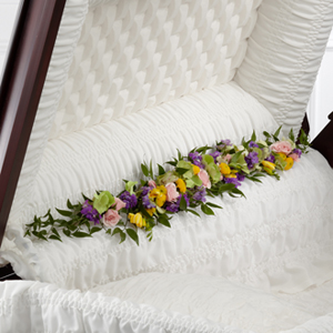 The FTD� Trail of Flowers� Casket Adornment