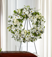 The FTD® Faithful Wishes™ Wreath