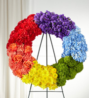 The FTD® Circle of Love™ Wreath