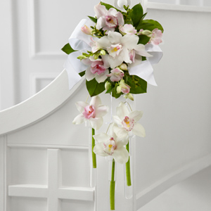 The FTD® Perfect Entrance™ Pew Arrangement