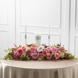 The FTD® Worldwide Romance™ Unity Candle Arrangement