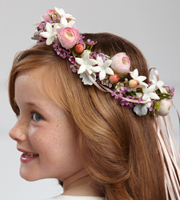 The FTD® Lila Rose™ Headpiece