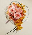 The FTD� Peach Waterfall� Bouquet